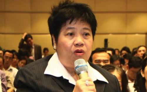 Bà Đỗ Thị Loan, Phó chủ tịch Hiệp hội Bất động sản Tp.HCM.